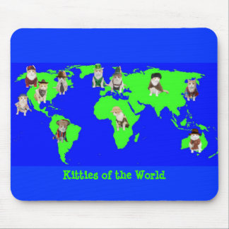 Kitties of the World Mouse Pad
