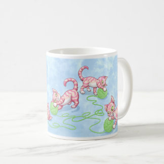 Kittipurra Pink Coffee Mug