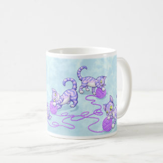 Kittipurra Purple Coffee Mug