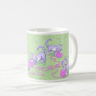 Kittipurra Purple Pink Coffee Mug