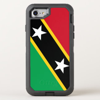 Kitts and Nevis Flag OtterBox Defender iPhone 8/7 Case