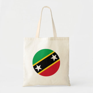 Kitts and Nevis Flag Tote Bag