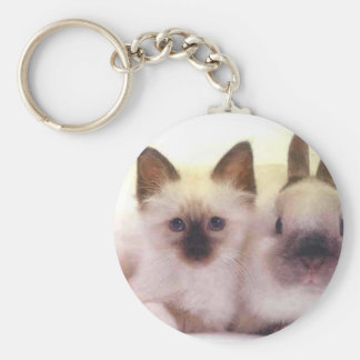 Kitty And Bunny Products Keychains