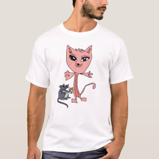Kitty and mouse T-Shirt