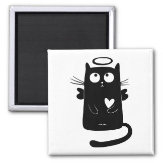 Kitty Angel Magnet