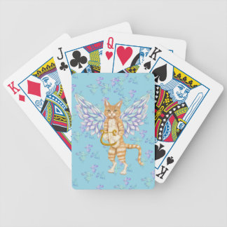 Kitty Angel Playing Cards
