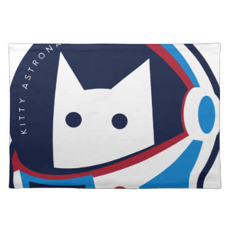 Kitty Astronaut Placemat