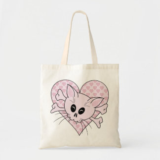 Kitty Bones Tote Bag