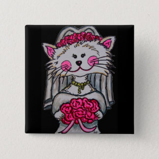 Kitty Bride To Be Pin