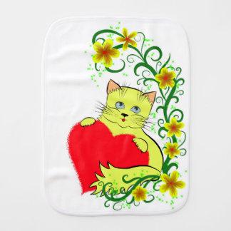 Kitty Burp Cloth
