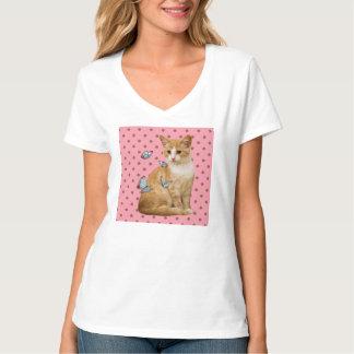 Kitty & Butterflies T-Shirt