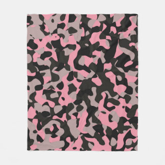 Kitty Camo Fleece Blanket