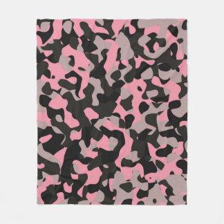 Kitty Camo Fleece Blanket