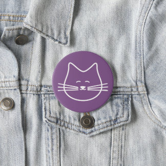 kitty cat button