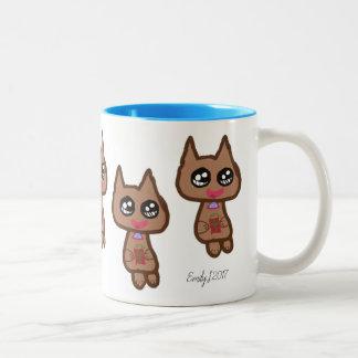 Kitty Cat Coffee Tea Mug