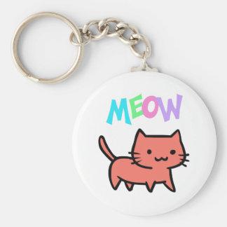 KITTY CAT MEOW KEY CHAIN