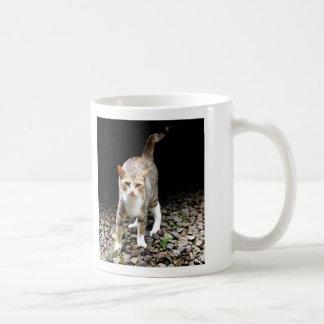 Kitty Cat Basic White Mug