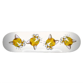Kitty-cat , Tortoiseshell  (三毛猫) Skateboard Deck
