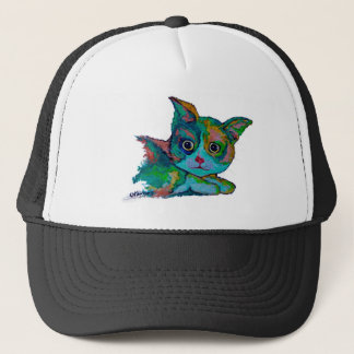 Kitty Cat Trucker Hat