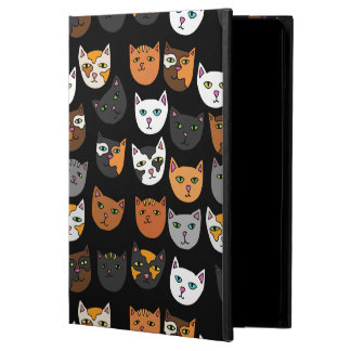 Kitty Cats everywhere pattern iPad Air Cover