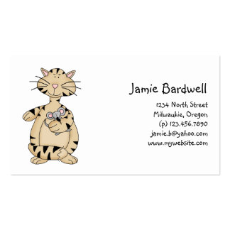 Kitty Cats · Kitty & Mouse Business Cards