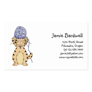 Kitty Cats · Kitty & Wool Business Card Templates