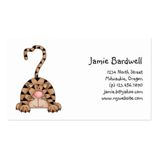 Kitty Cats · Tabby Cat Business Card Templates