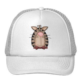 Kitty Cats · Tabby Cat Face Mesh Hat