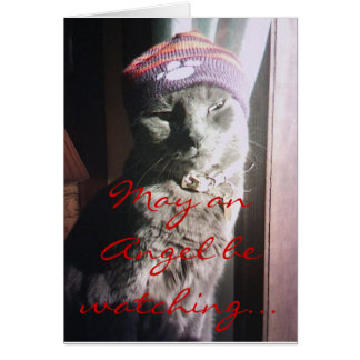 Kitty Christmas - Customized - Customized Card