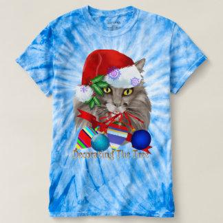 Kitty Christmas Decorations T-Shirt