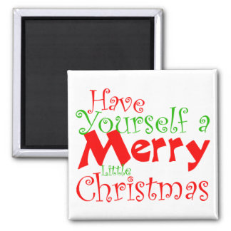 Kitty Christmas Holiday Pet Magnet