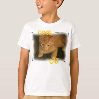 "Kitty ""COOL CAT"" Kids Basic T-Shirt"
