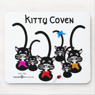 Kitty Coven Mouse Pad
