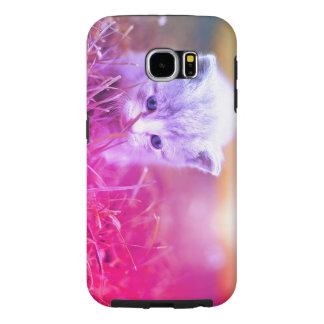 Kitty Curious Samsung Galaxy S6 Cases