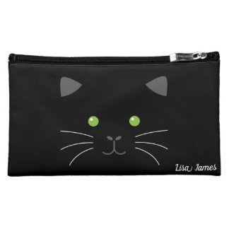 Kitty Face Cosmetic Bag
