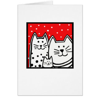 Kitty Family Card