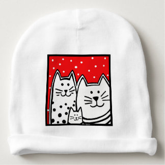 Kitty Family Hat For Baby Baby Beanie
