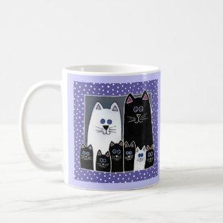 Kitty Family Portrait Coffee Mug