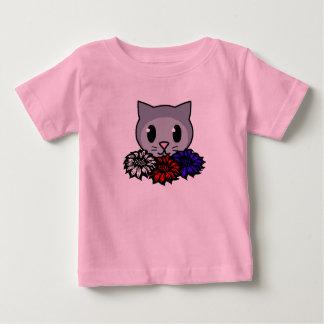 Kitty & Flowers for Kids Infant T-Shirt