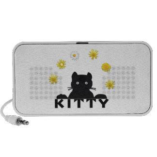 Kitty Flowers Travelling Speakers