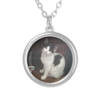 Kitty Fun! Silver Plated Necklace