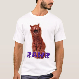 Kitty Goes Rawr!!! T-Shirt