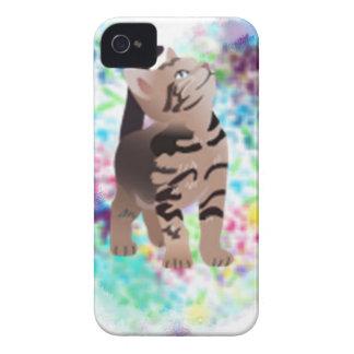 Kitty Heart Aqua gifts iPhone 4 Case-Mate Case