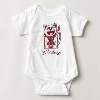 Kitty Hotei's Big Heart Baby Bodysuit