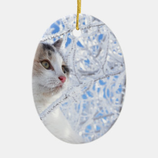 Kitty Ice Queen Ceramic Oval Decoration