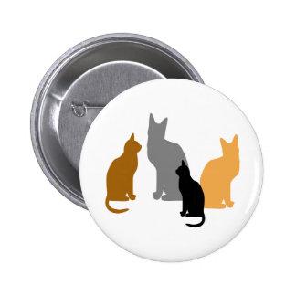 Kitty Kids Pinback Buttons