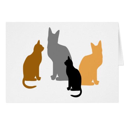Kitty Kids Greeting Card