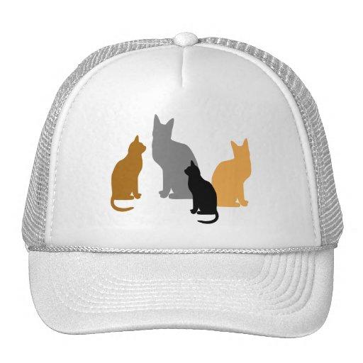 Kitty Kids Mesh Hats