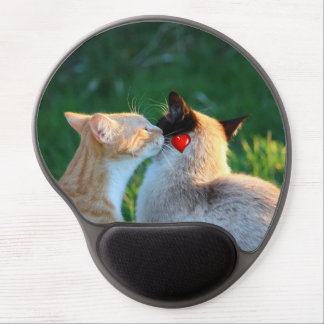 kitty kiss gel mouse pad