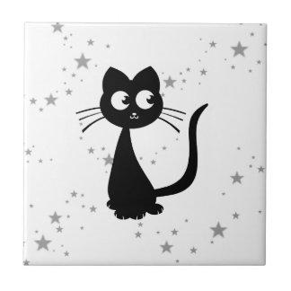 Kitty Kuro Small Square Tile